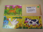 808: Four animal puzzles