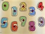 P0001: wooden peg number puzzle