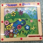 T007: Flower Park Magnetic Board