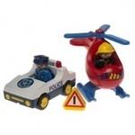 E806: Playmobil 1-2-3 Community Vehicles