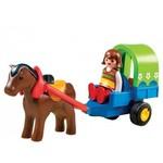E817: Playmobil 1-2-3 Horses