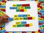4524: MAGNETIC PICTURE WORD STORY BOARD