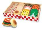 3032: Wooden Sandwich Set