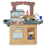 Cook play kitchen bbq