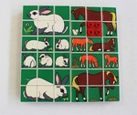 Animal Mosaic Rabbit/Horse (Duplo 1078)