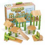 Bamboo building blocks
