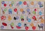 Dp387: Alphabet Wooden Floor Puzzle
