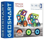 Cb96: Geo Space Truck Magnetic Tiles