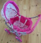 Ea6: Pink Dotty Pram