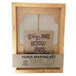A41: Paper making set A4 size with envelope deckle