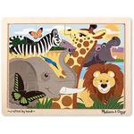 J8454: African Animals Puzzle
