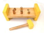 C251: Hammaring toy - Wooden