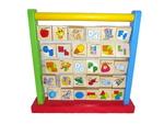 D384: Wooden Alphabet Teaching Frame