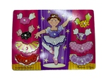 Ballerina Dress Up Inset Puzzle