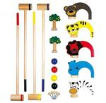 671: Croquet Animal Game Set