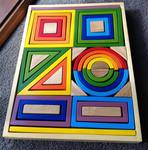 307: Q Toys Rainbow Nesting Blocks