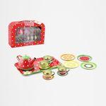 218: Fruity Tin Tea Set