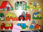 D1-055: Wooden Farm Puzzle