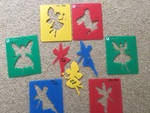FAIRY STENCILS AND TEMPLATES