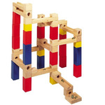 BUILD-N-ROLL MARBLE RUN