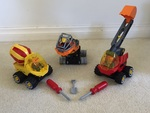 K152: LEGO TECH MACHINES EXCAVATOR SET