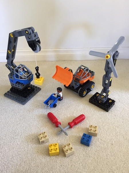 K153: LEGO TECH MACHINES CRANE SET
