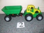 2: Tractor and trailer
