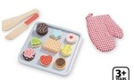 TS7-002: Cookie Set - Wooden Play Food