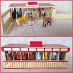 6218: Horse stable with 8 horses