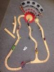 1838: Large Thomas Wooden Train Set