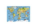 A13: Felix World Map Puzzle