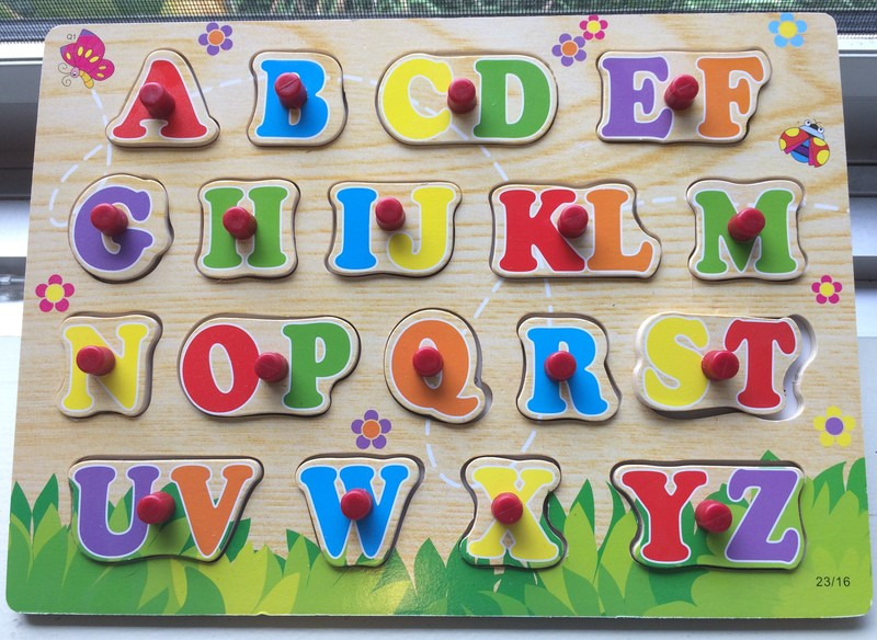 294: Alphabet Wooden Puzzle
