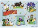 444: Melissa & Doug Sing Along Nursery Rhymes Sound Puzzle 1