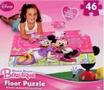 522: Minnie Mouse Bow-tique Floor Puzzle
