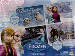 546: Disney Frozen Four in One Tray Puzzle