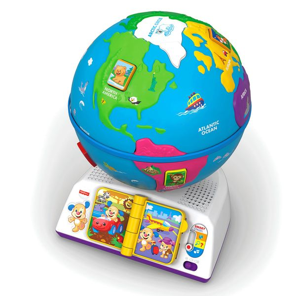 598: Fisher-Price Laugh & Learn Smart Stages Greetings Globe