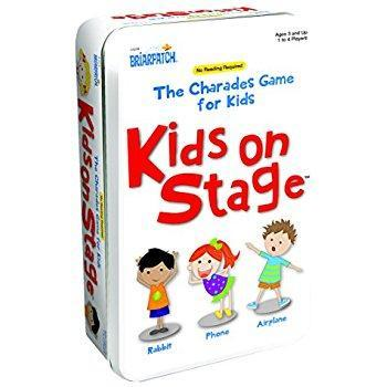 697: Kids on Stage Charades Game