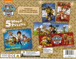 195: Paw Patrol 5 Wood Puzzles