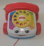 252: Fisher-Price Brilliant Basics Chatter Telephone