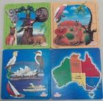 712: Australian Scenes Wooden Puzzles