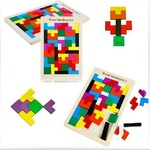 713: Russian Play Wooden Intelligence Puzzzle