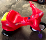PHP216: Red Pedal Bike