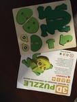 J03-4: 3D Wooden frog
