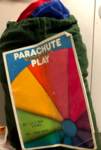 A5-13: Parachute (7m, 24 handles) and book