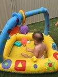 Blow up Baby Pool
