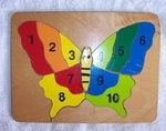 Butterfly Counting Puzzle