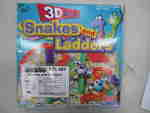 3D Snakes and Ladders Game