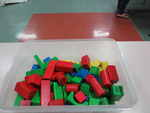 Coloured Wooden Blocks
