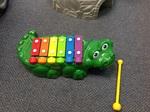 921: Crocodile xylophone
