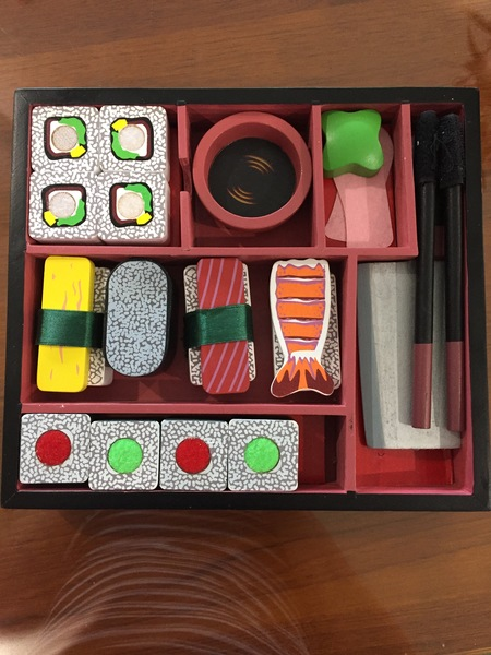 963: Sushi bento box